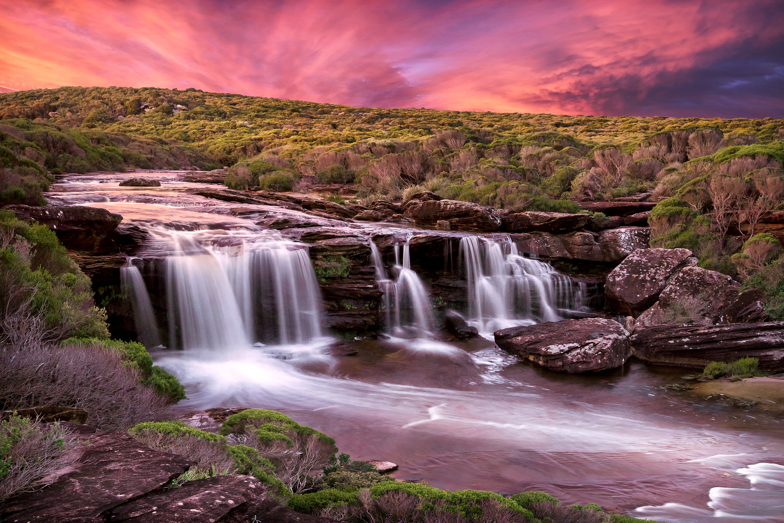 Curracurrang Falls, NSW.