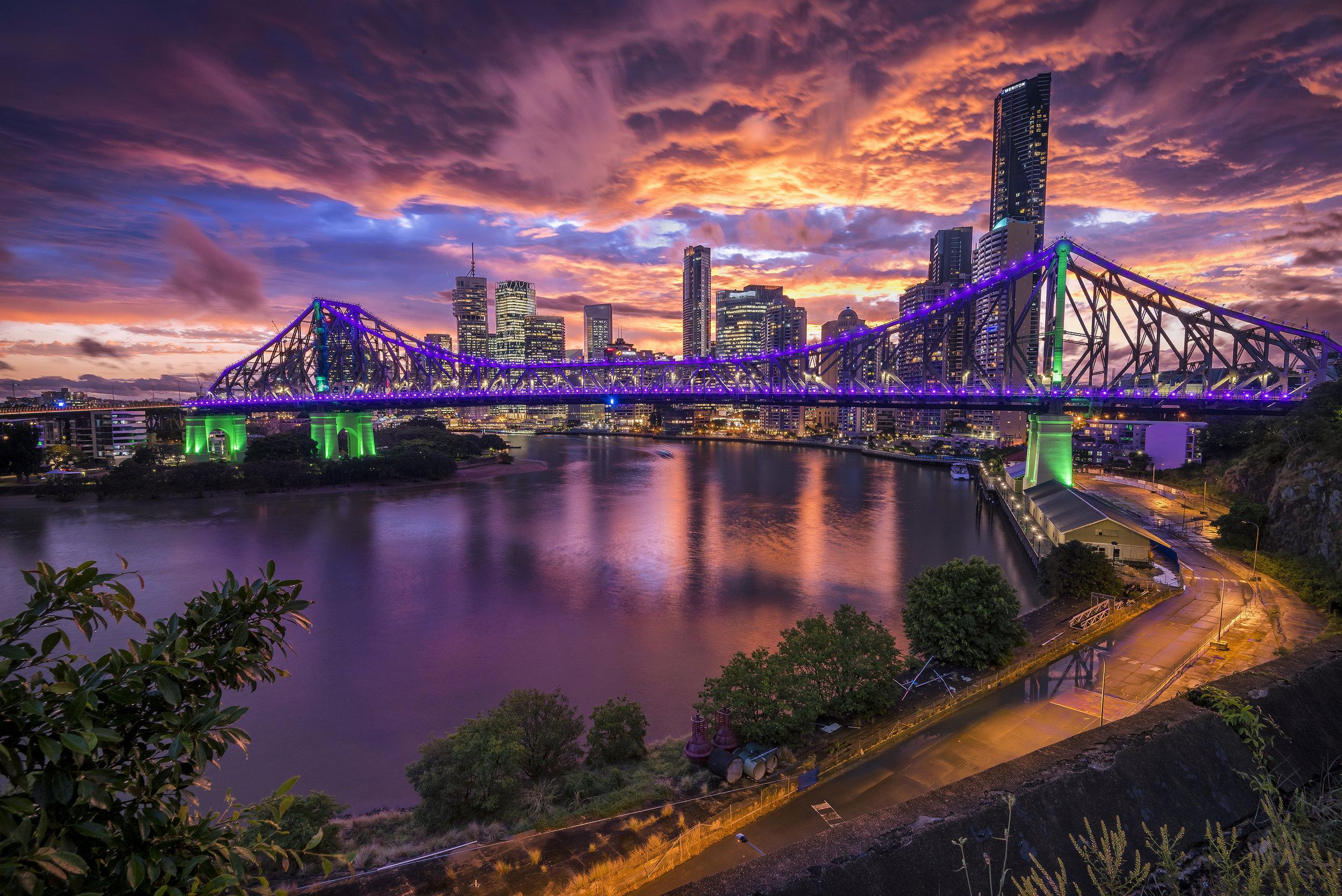 Brisbane Storm, QLD. Australia