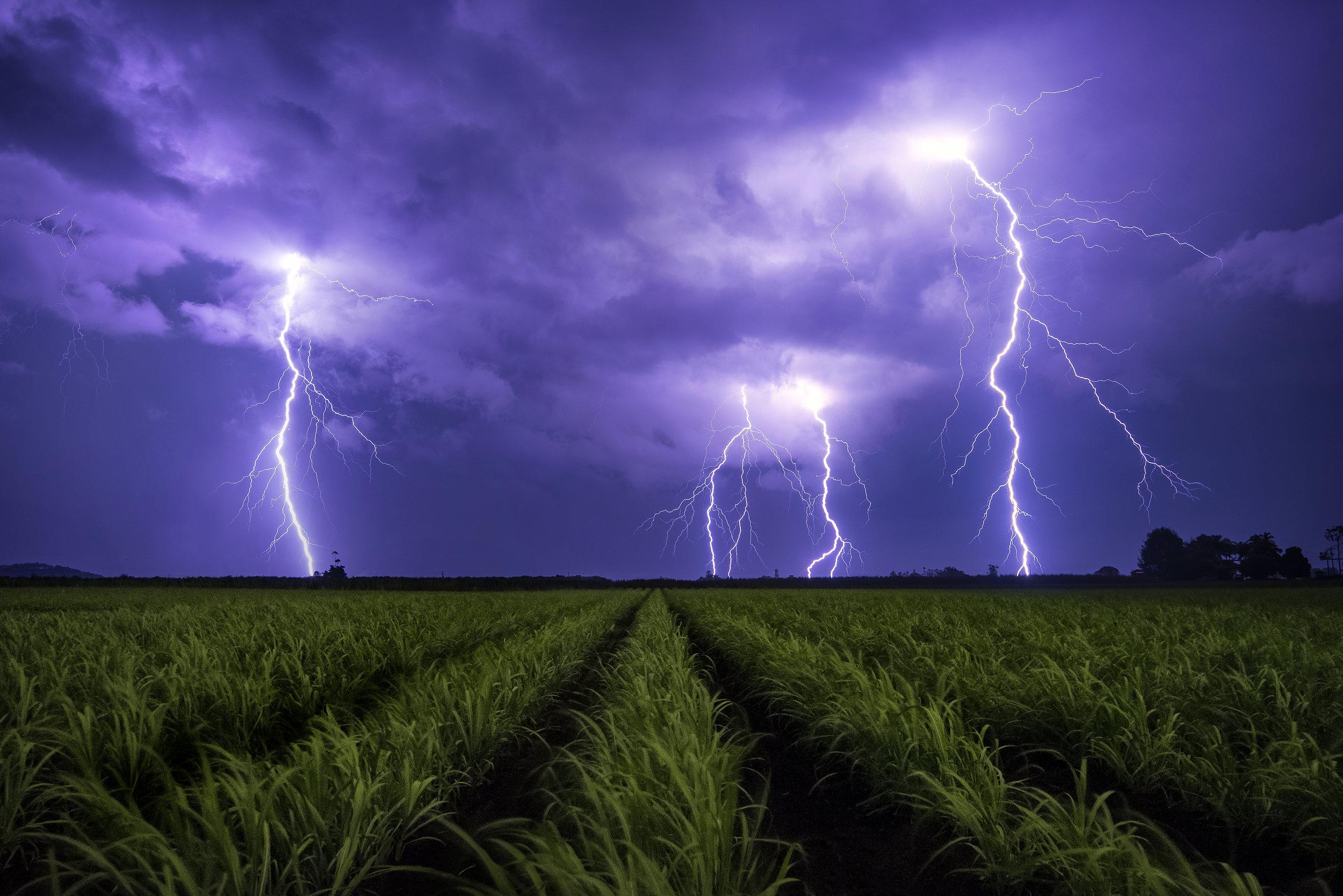 Murwillumbah Storm, NSW. Australia
