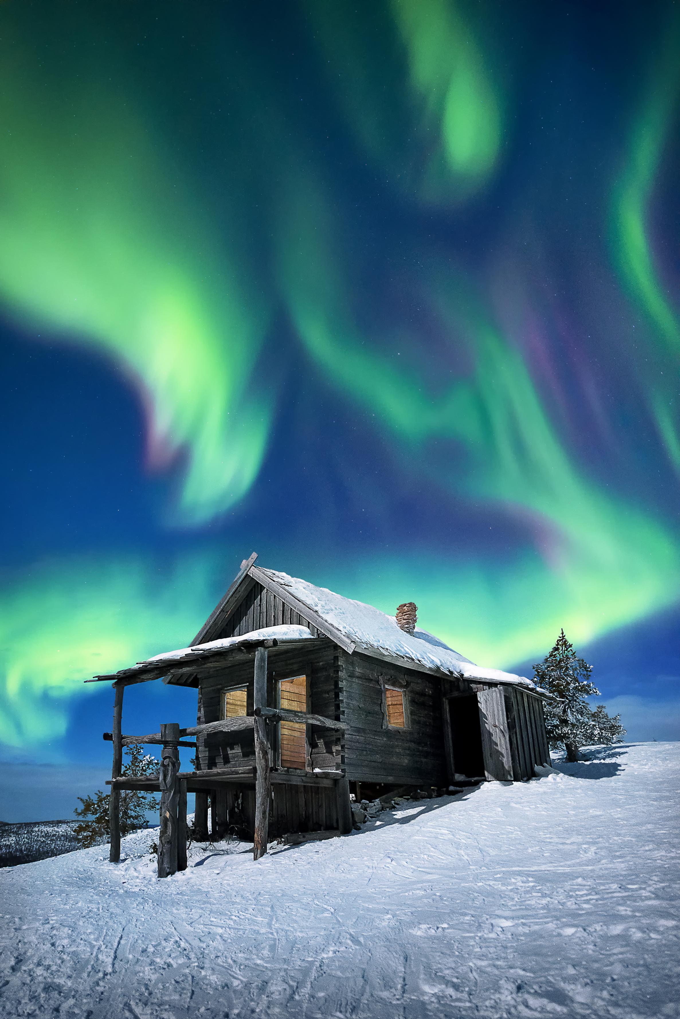 Levi, Lapland. Finland.