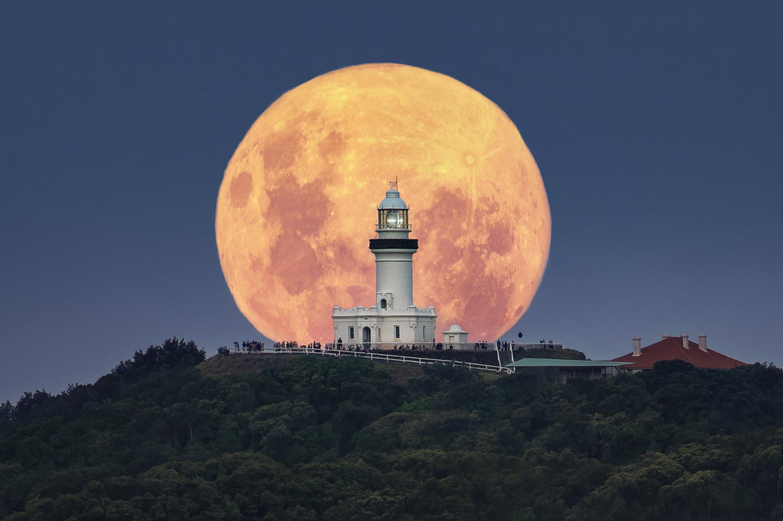 Byron Bay Moonrise