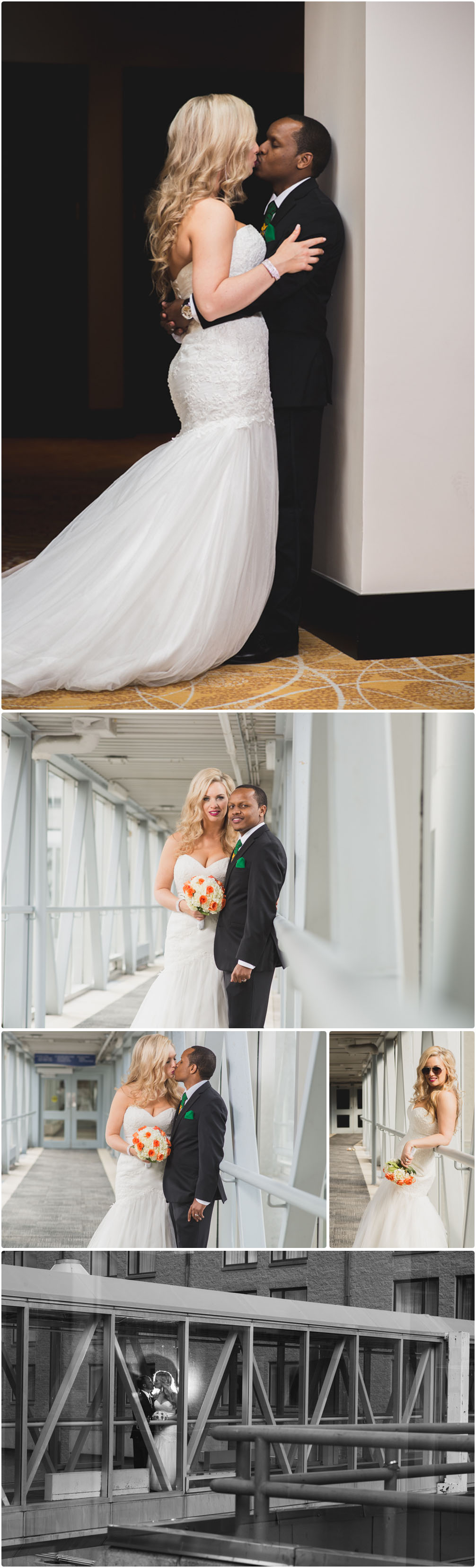 couple portraits on the pedway in halifax