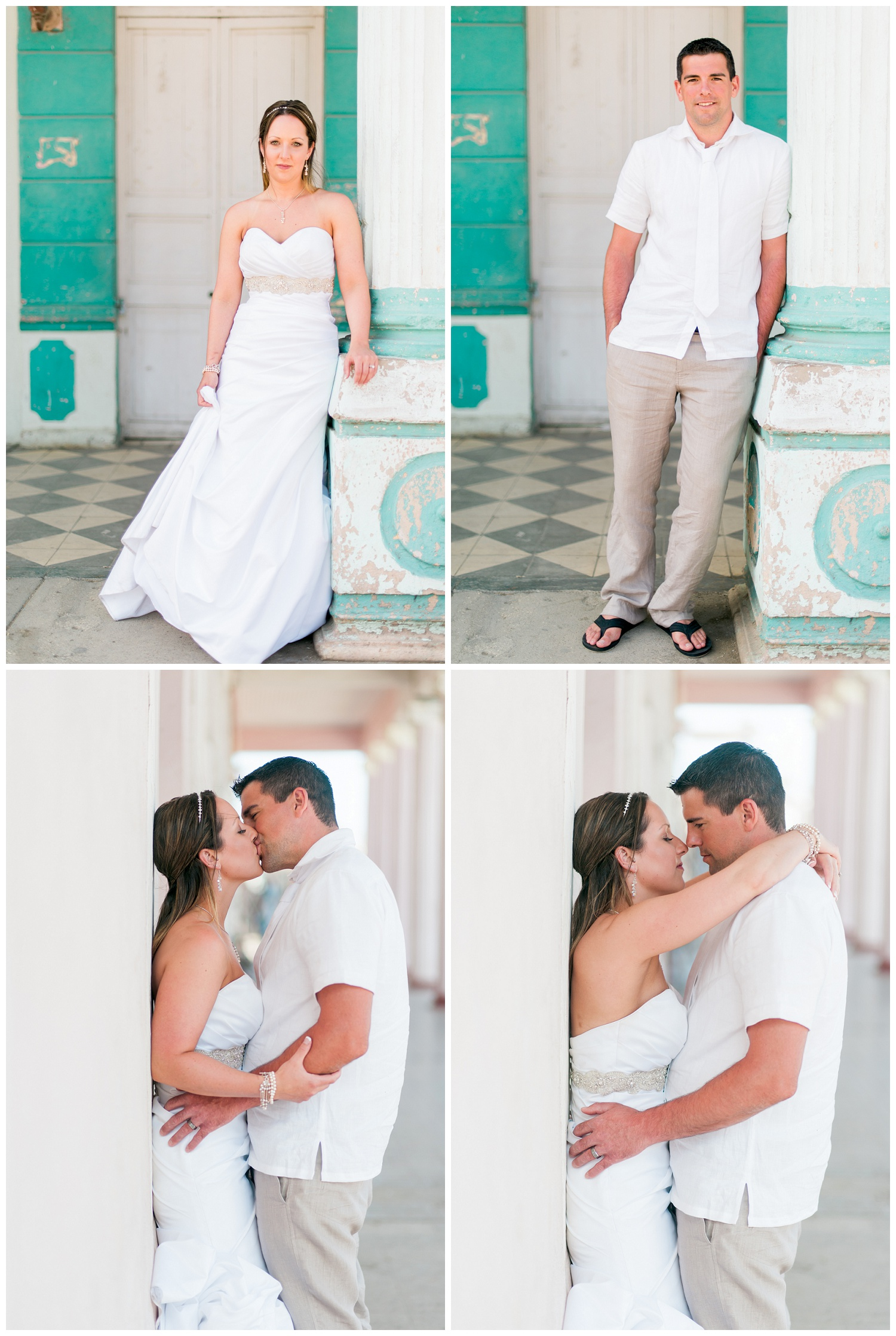 cuba bride and groom