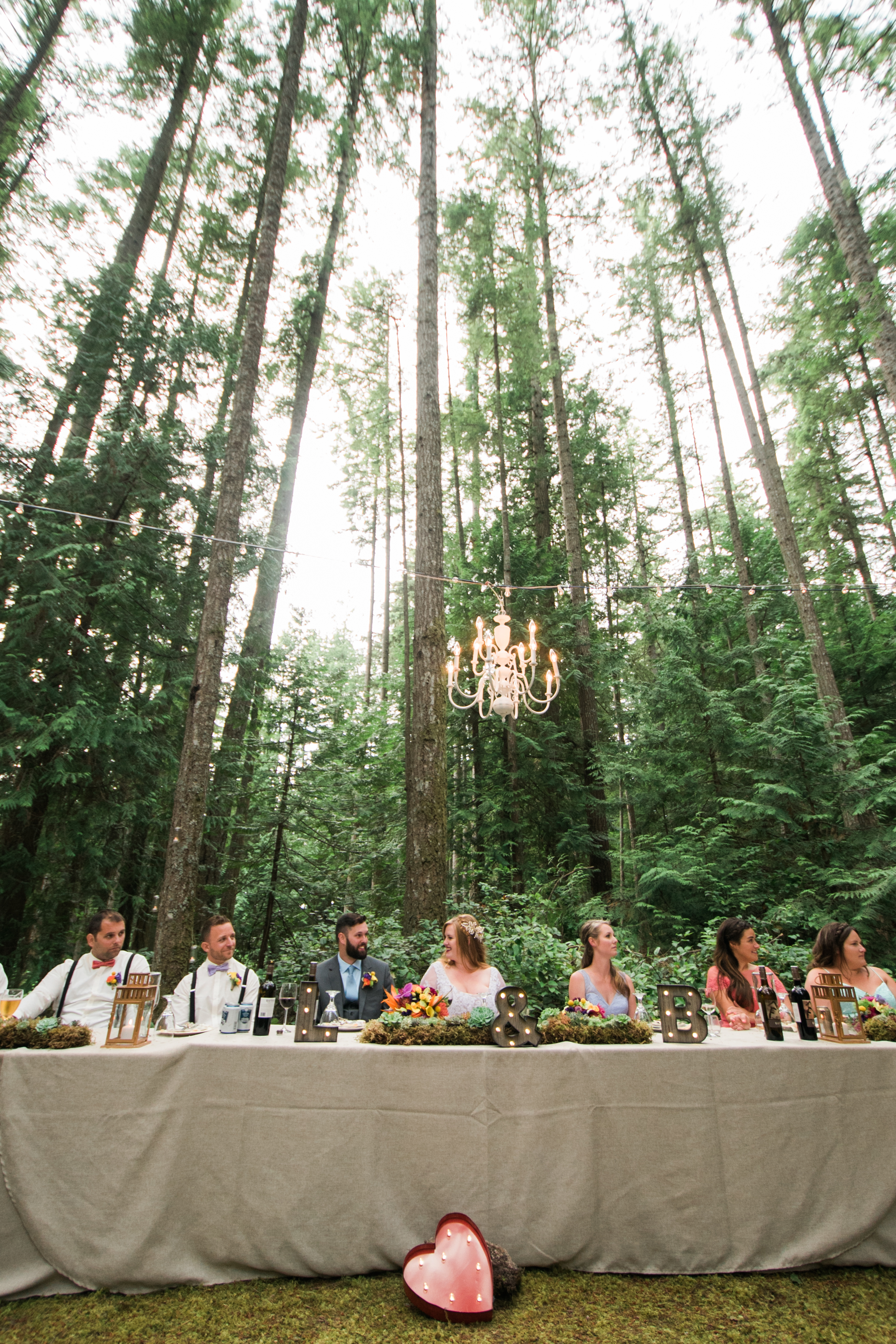 A forest ceremony? Heck yes!