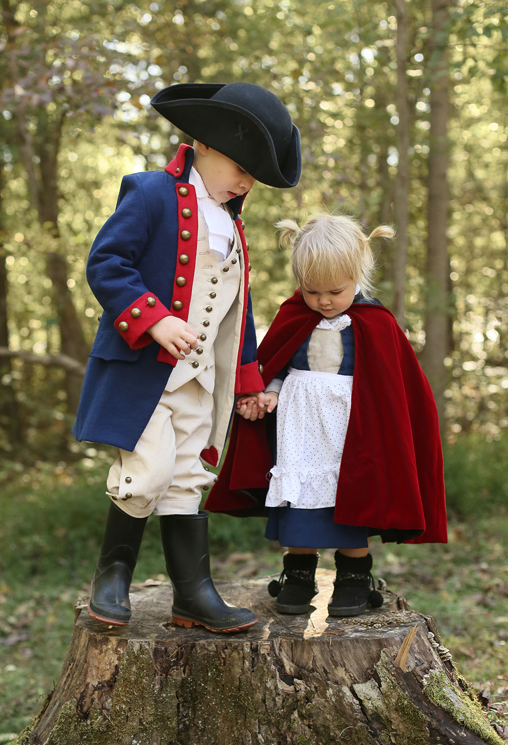 Alexander Hamilton and Little Red Riding Hood