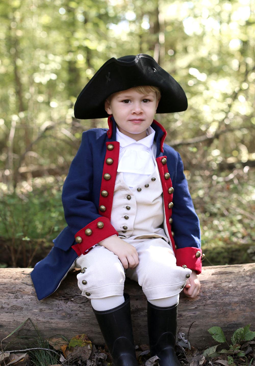Little Alexander Hamilton Halloween Costume