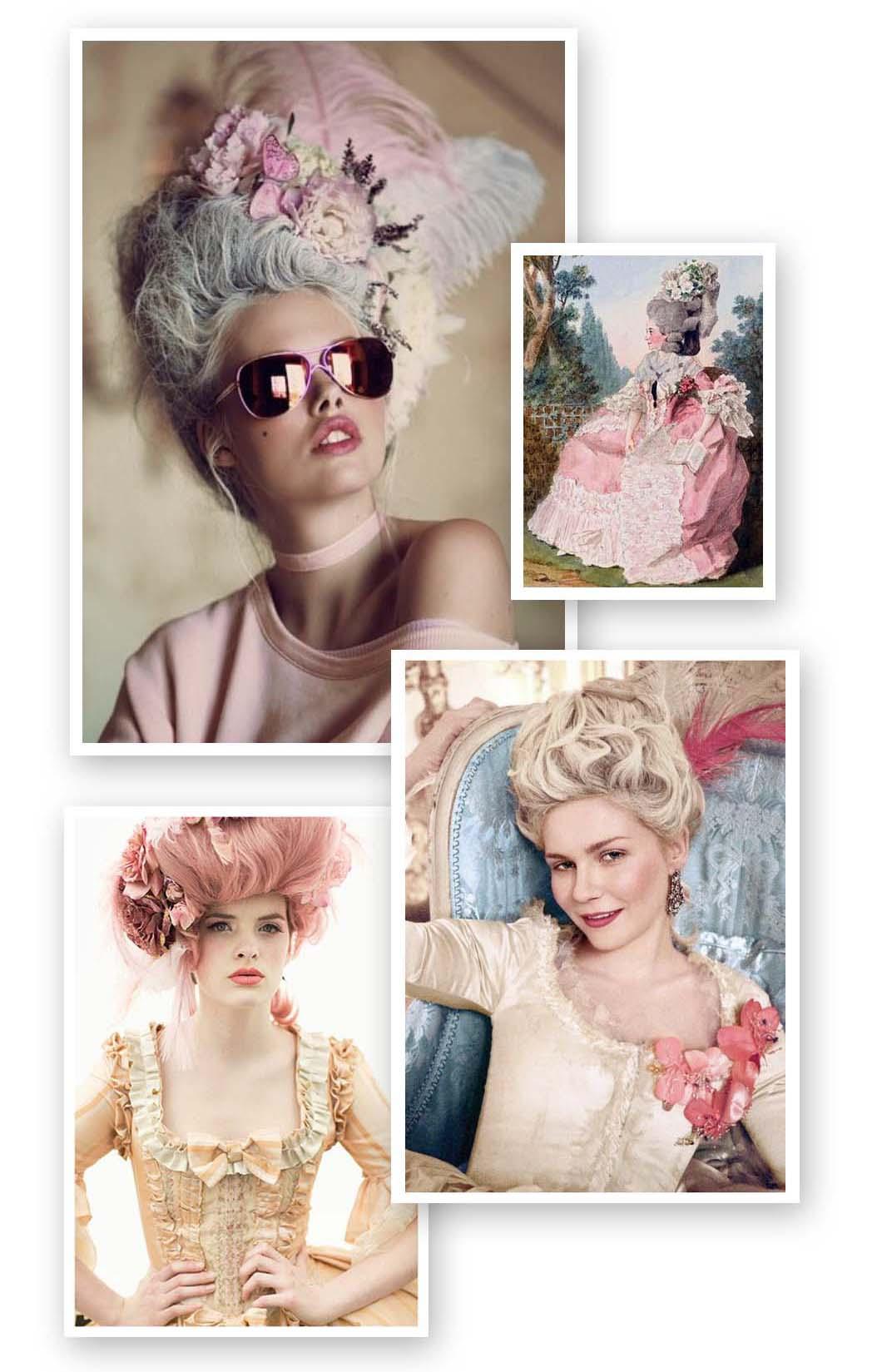 #18thcentury #pink #marieantoinettestyle #pinkhair