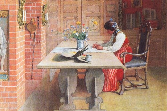 Hilda, Carl Larsson 1911