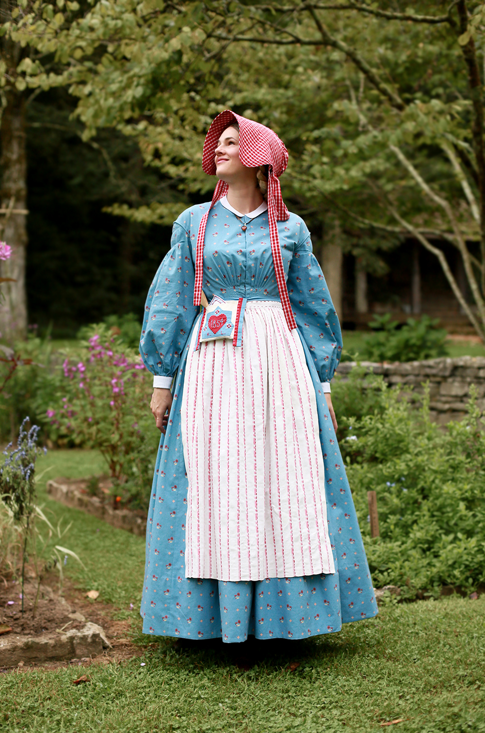 Kirsten Larson An American Girl 1854 Costume by Jessica Quirk