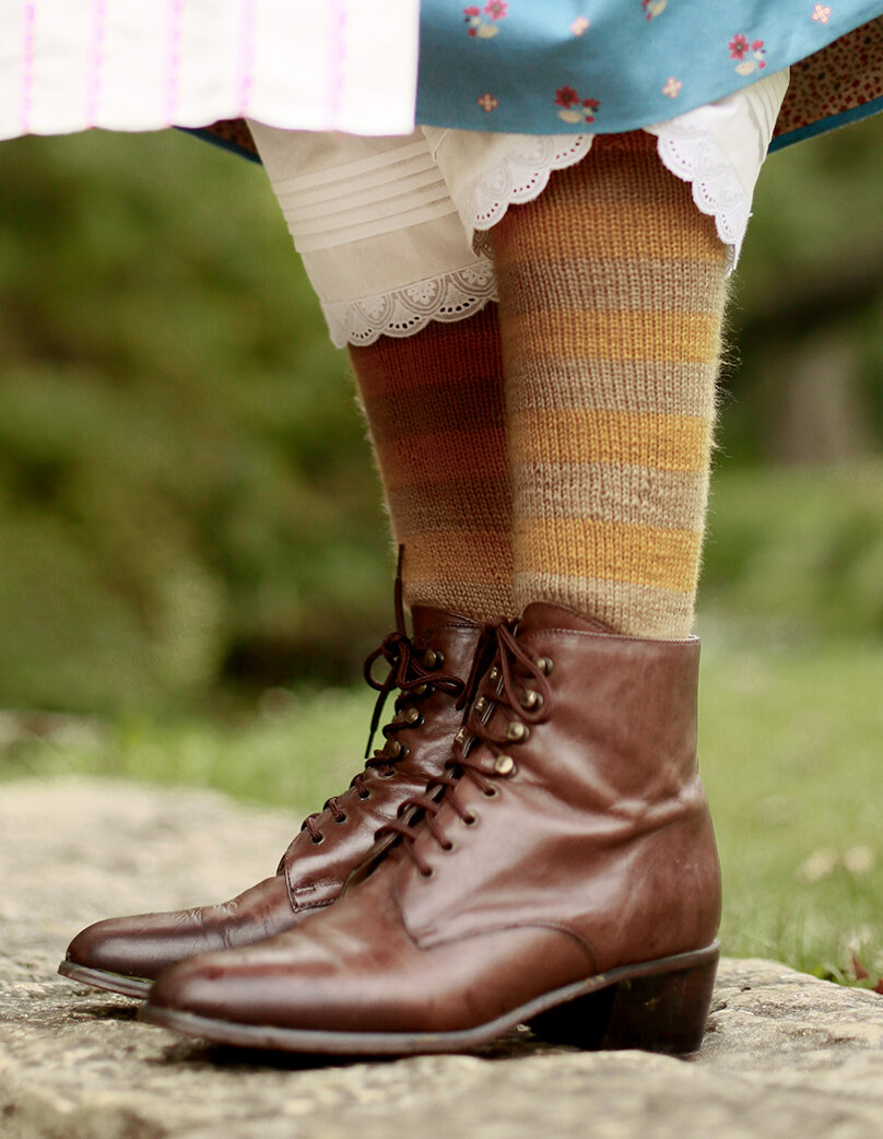 1850s Socks Boots and Drawers Kirsten Project