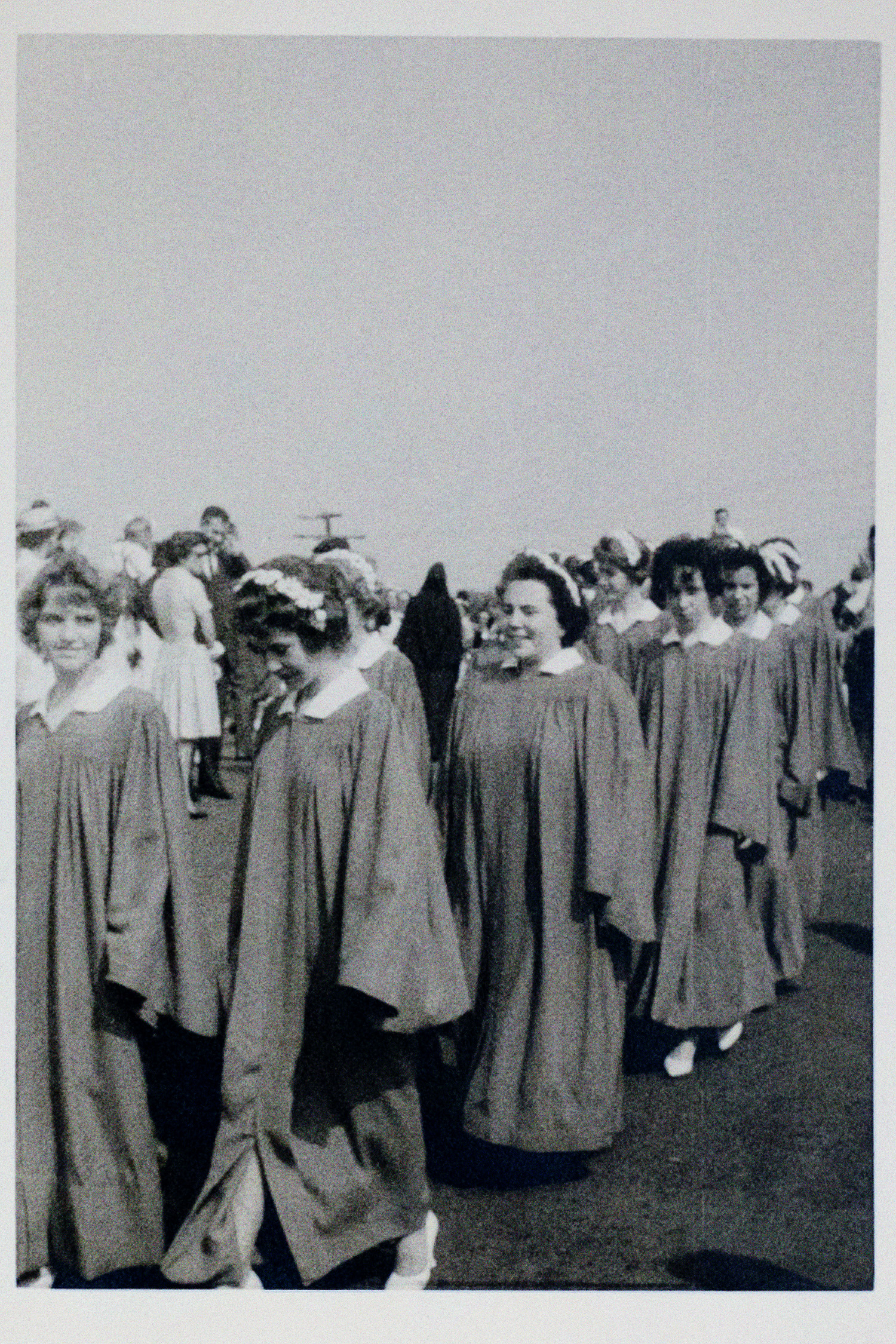 Bridget Mary Meehangraduation marchfrom St. Thomas More CathedralCatholic School in Arlington, VA.(from her photo album)
