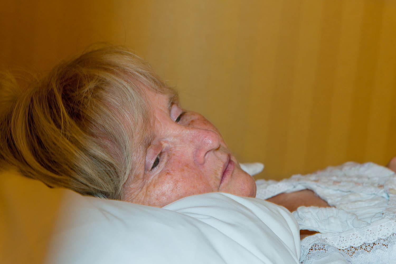 Diane Dougherty, from Atlanta, in hotel
