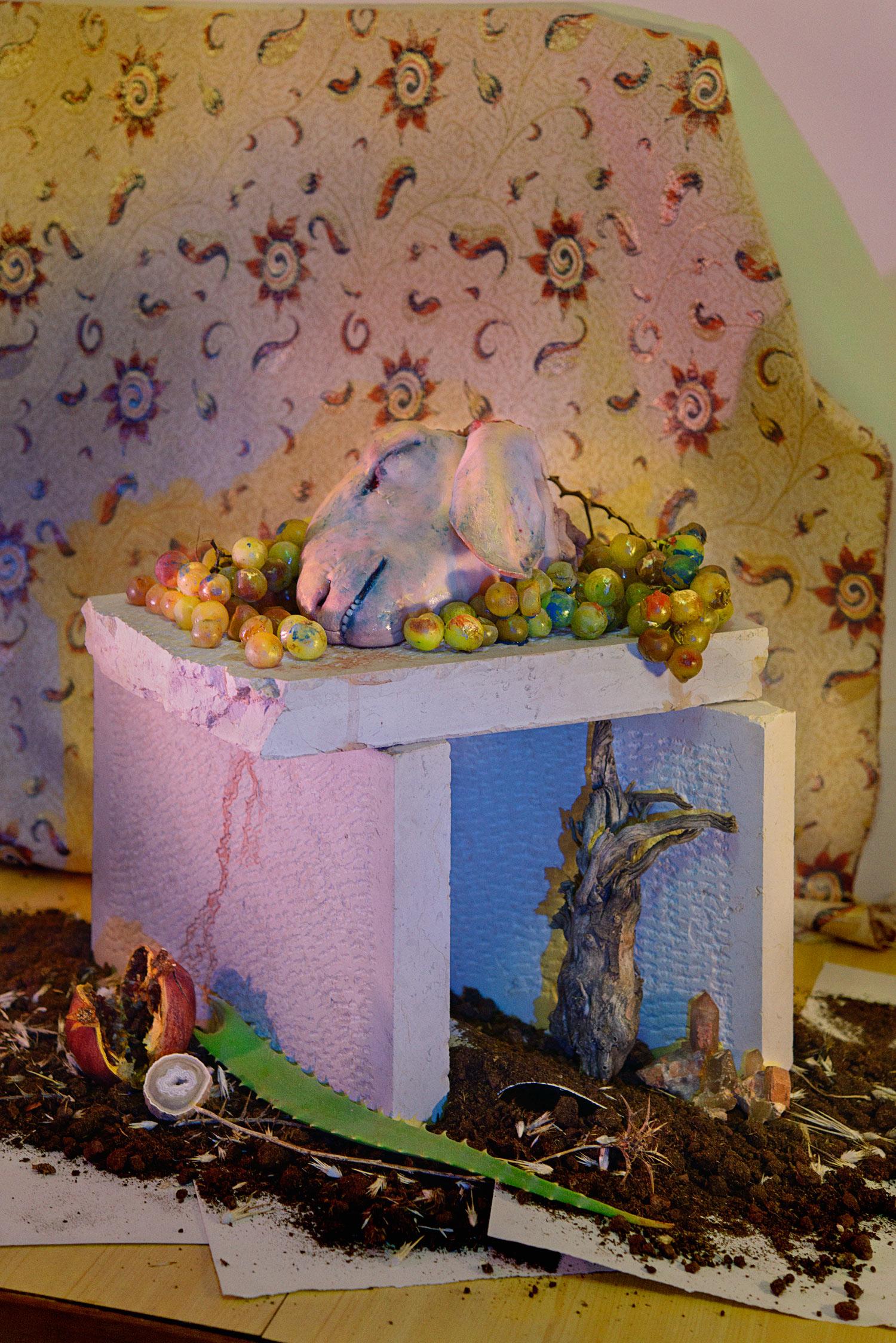 The lamb altar