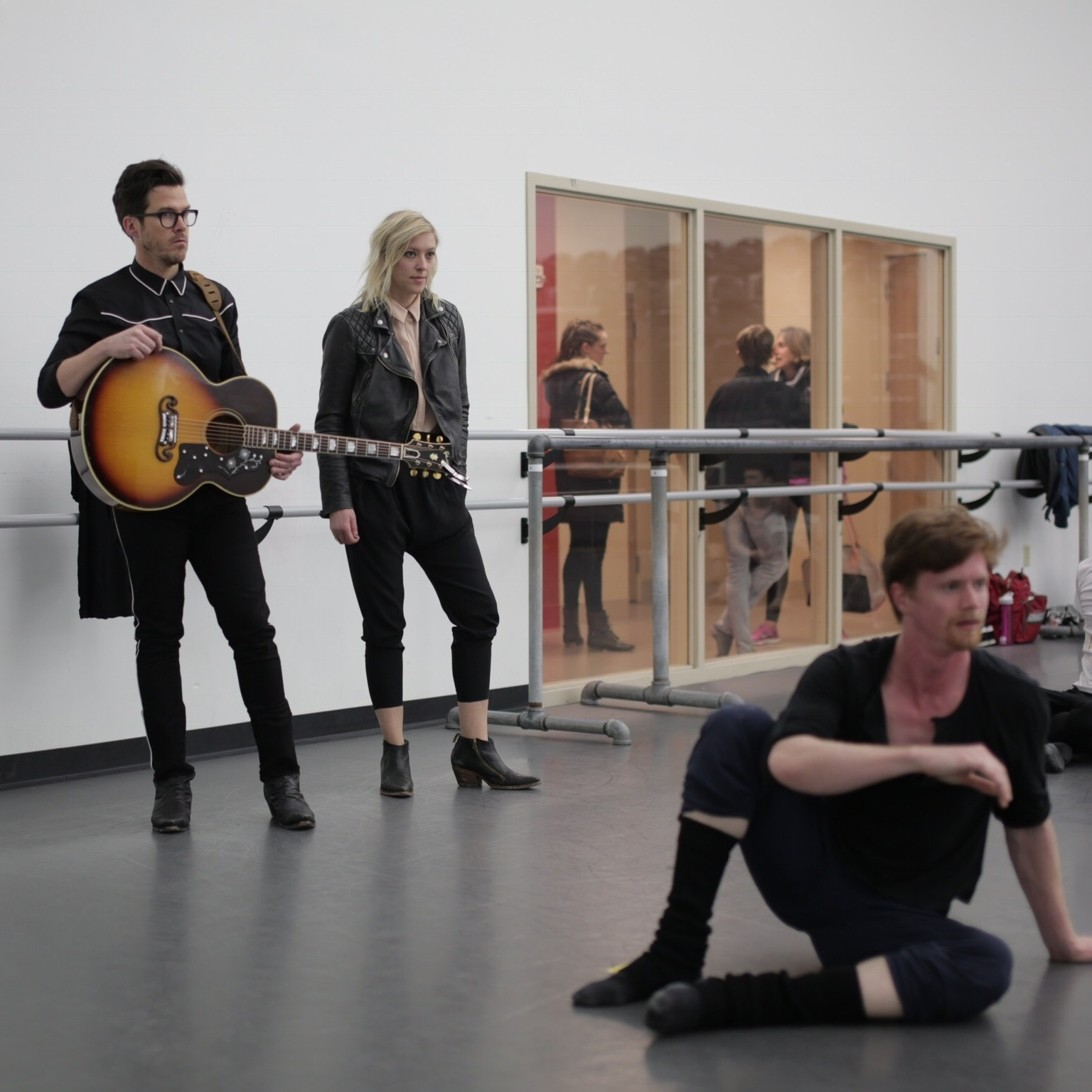REHEARSAL VIEWINGS - Photo by Kelsey Cherry