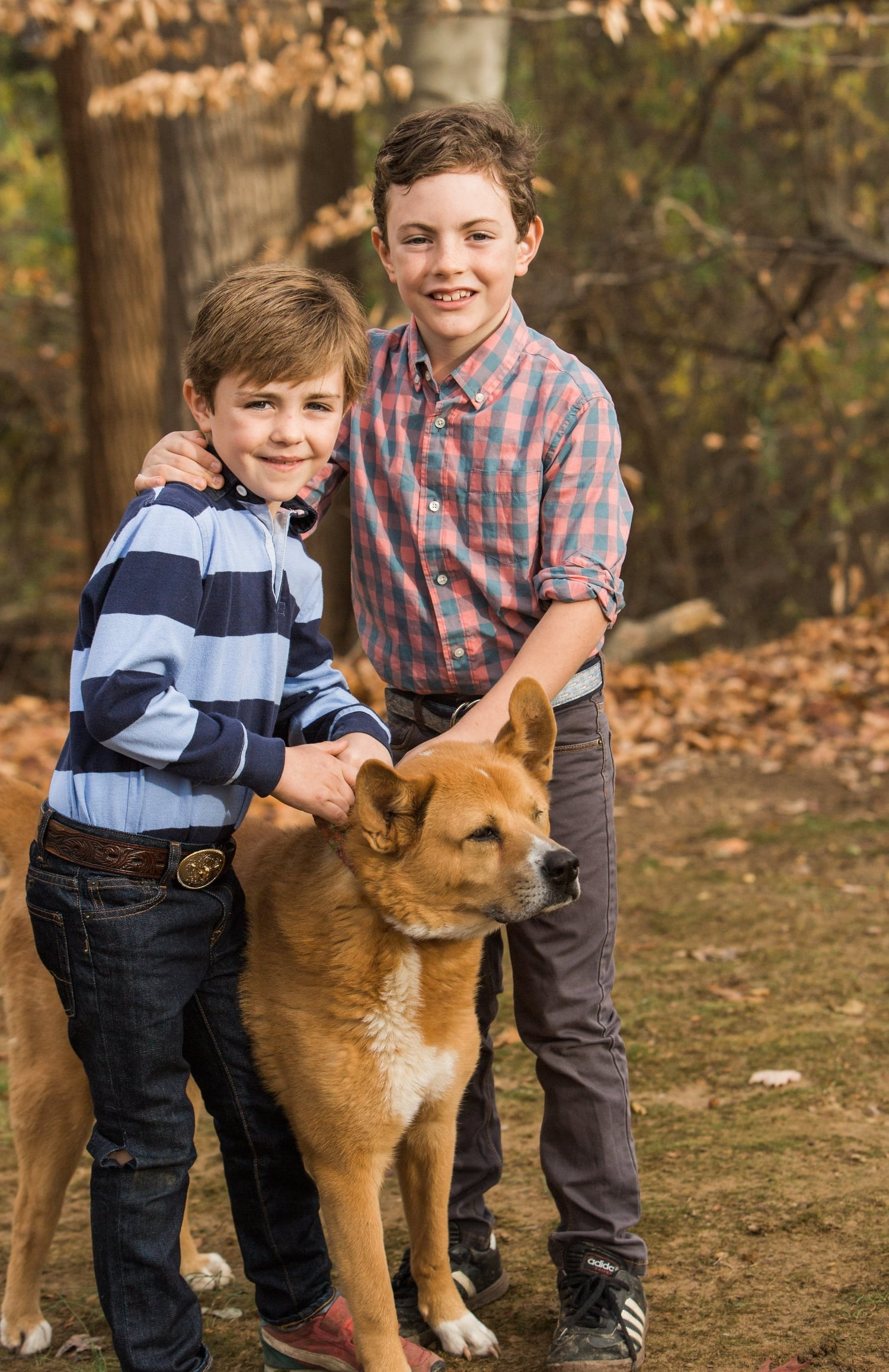 What's not to love about a boy and his dog? Sweet Chloe is 14 years old!