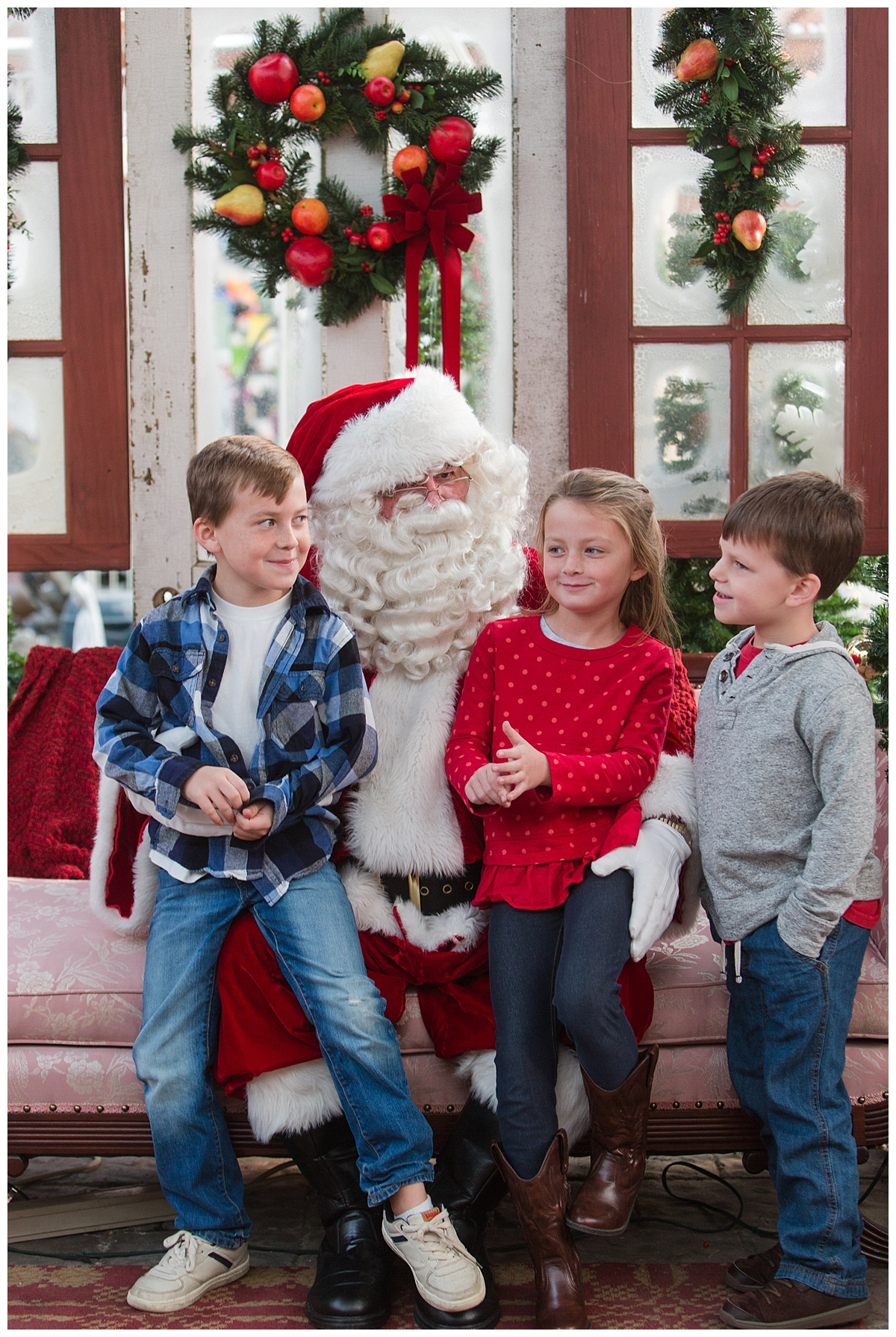 This was right after Macy let Santa know she would really like a horse for Christmas!