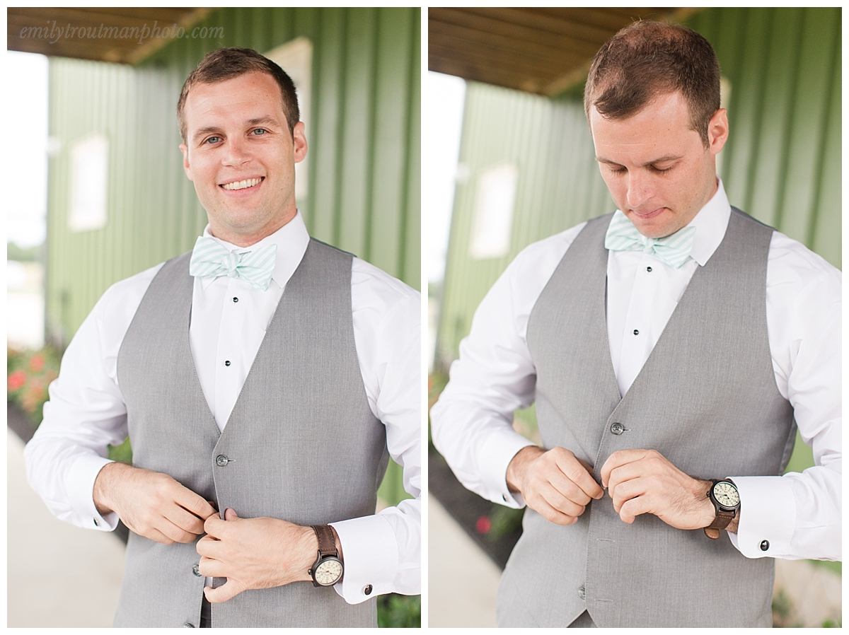 The groom getting ready is just as important as the bride! Although admittedly way less stressful usually ;)