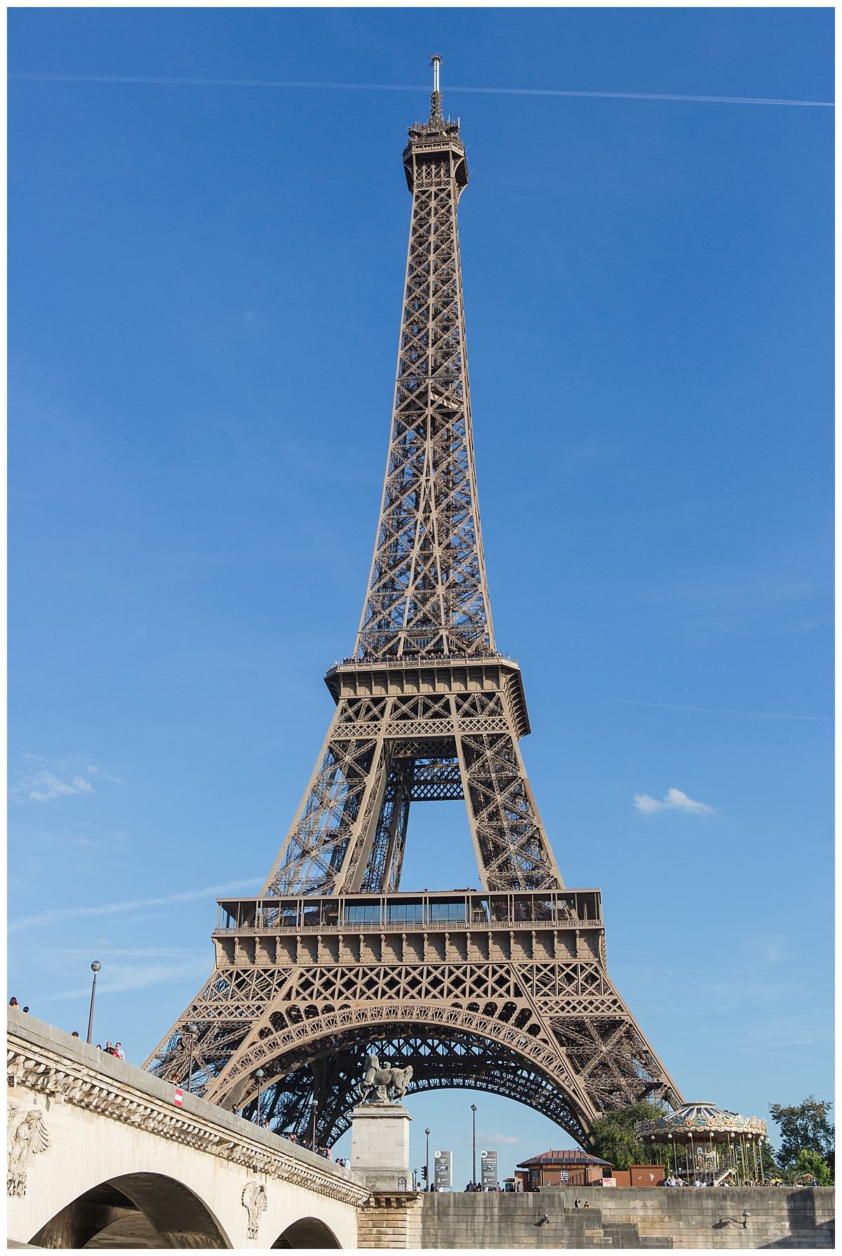 Eifel Tower view from the Siene