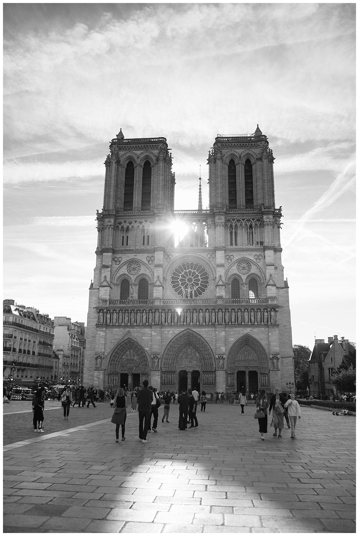 Early morning at Notre Dame