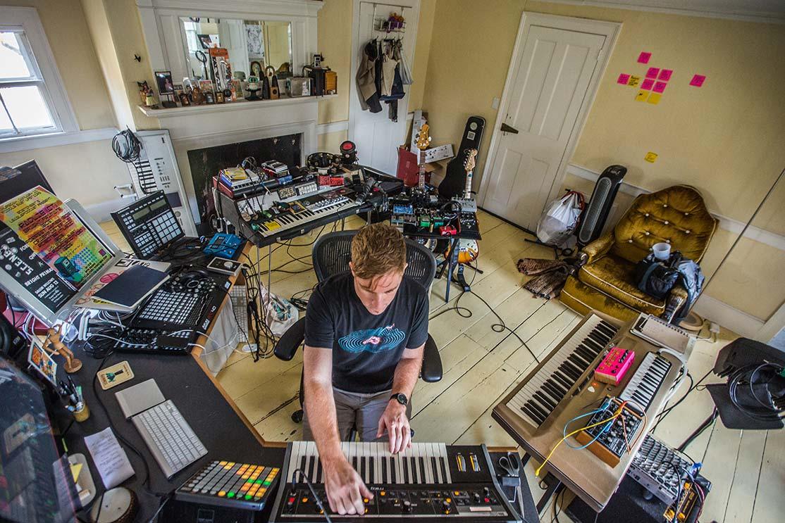 Me in my studio. Photo credit:  John Andrews/Social Palates