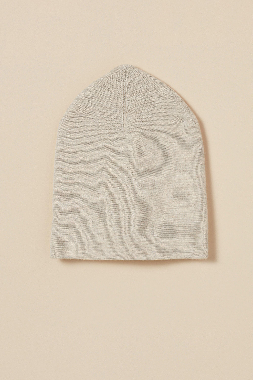 Extra-fine merino wool tuque