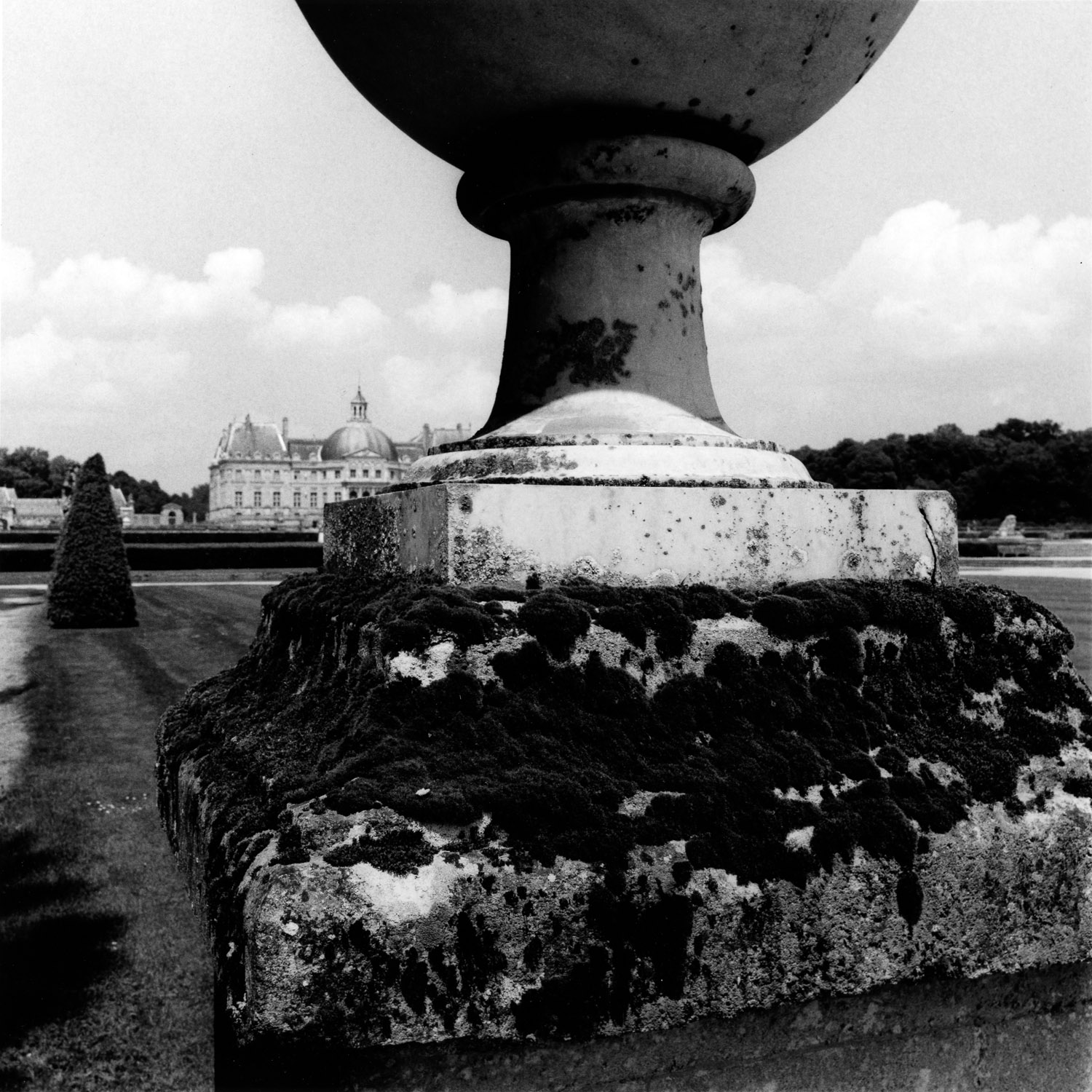 Moss and Urn, Vaux le Vicomte