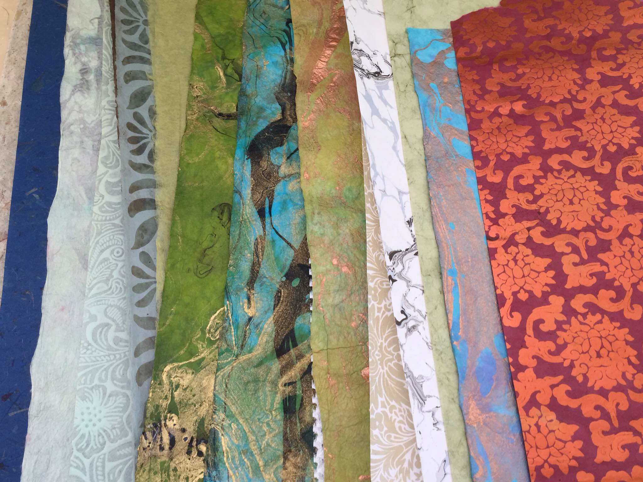 Drool-worthy hand-made papers