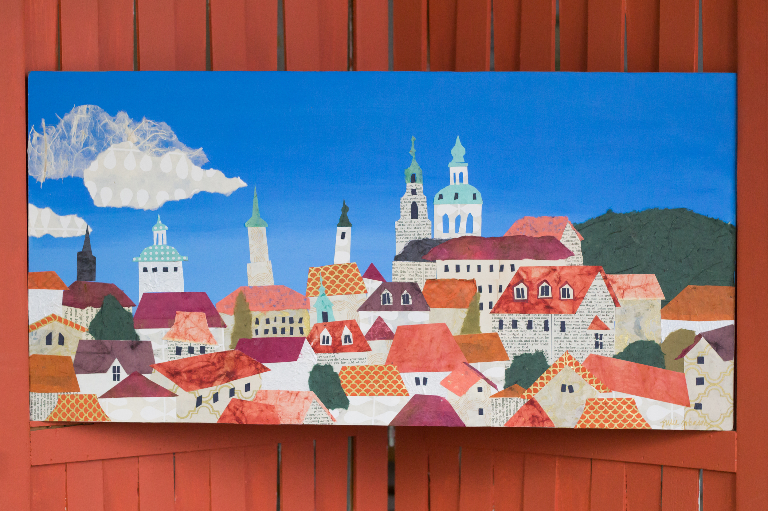 The Prague Collage - available now in the  shop !