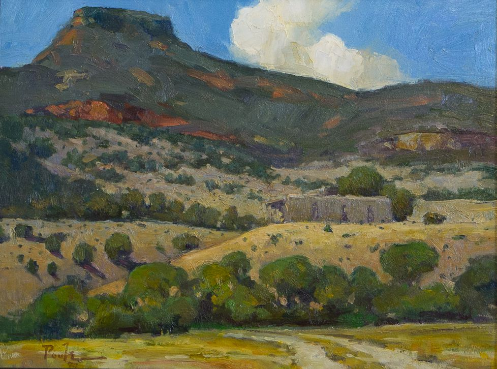 """O'Keeffe's Mountain"""