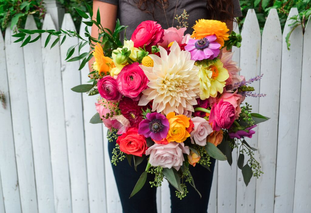 Bright Summer Bridal Bouquet