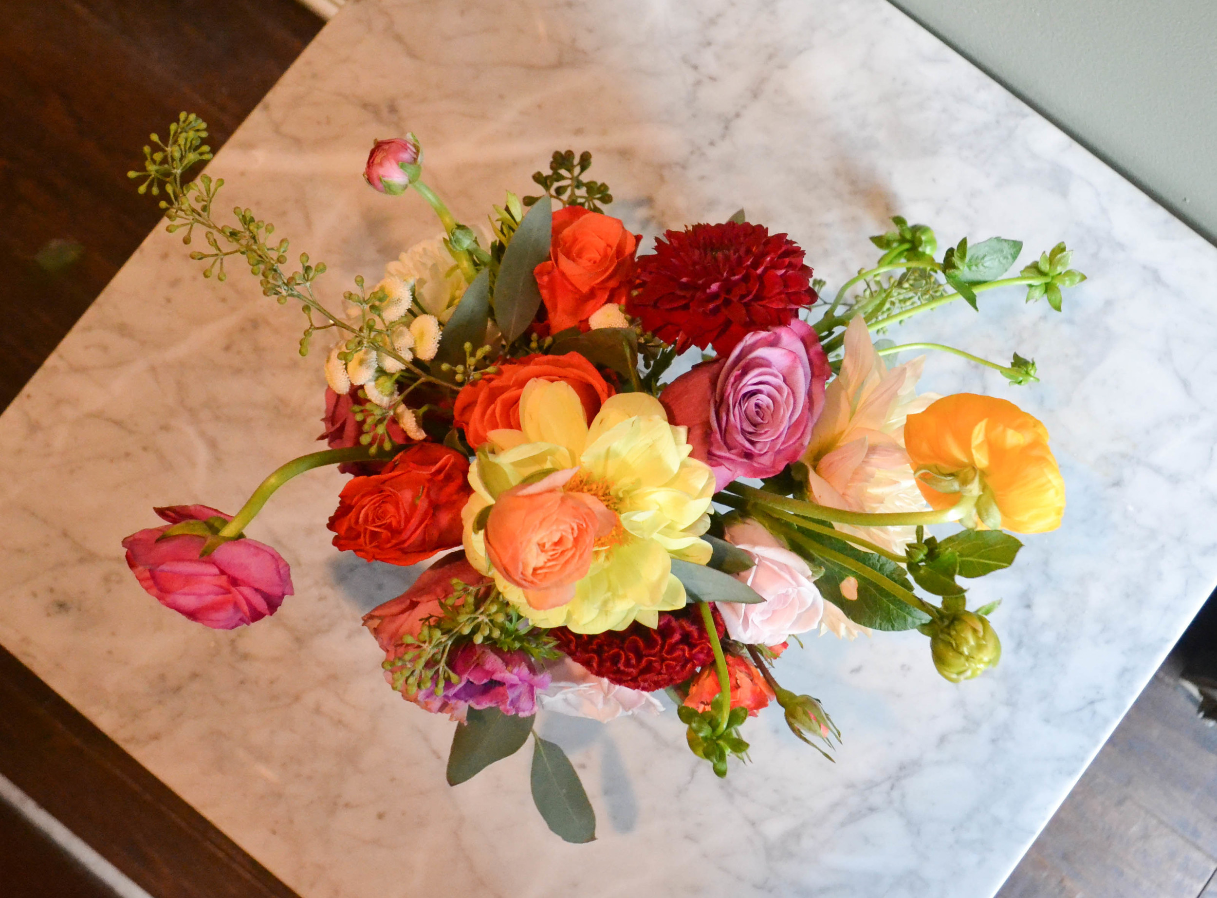 Summer Flowers Wedding in the Catskills