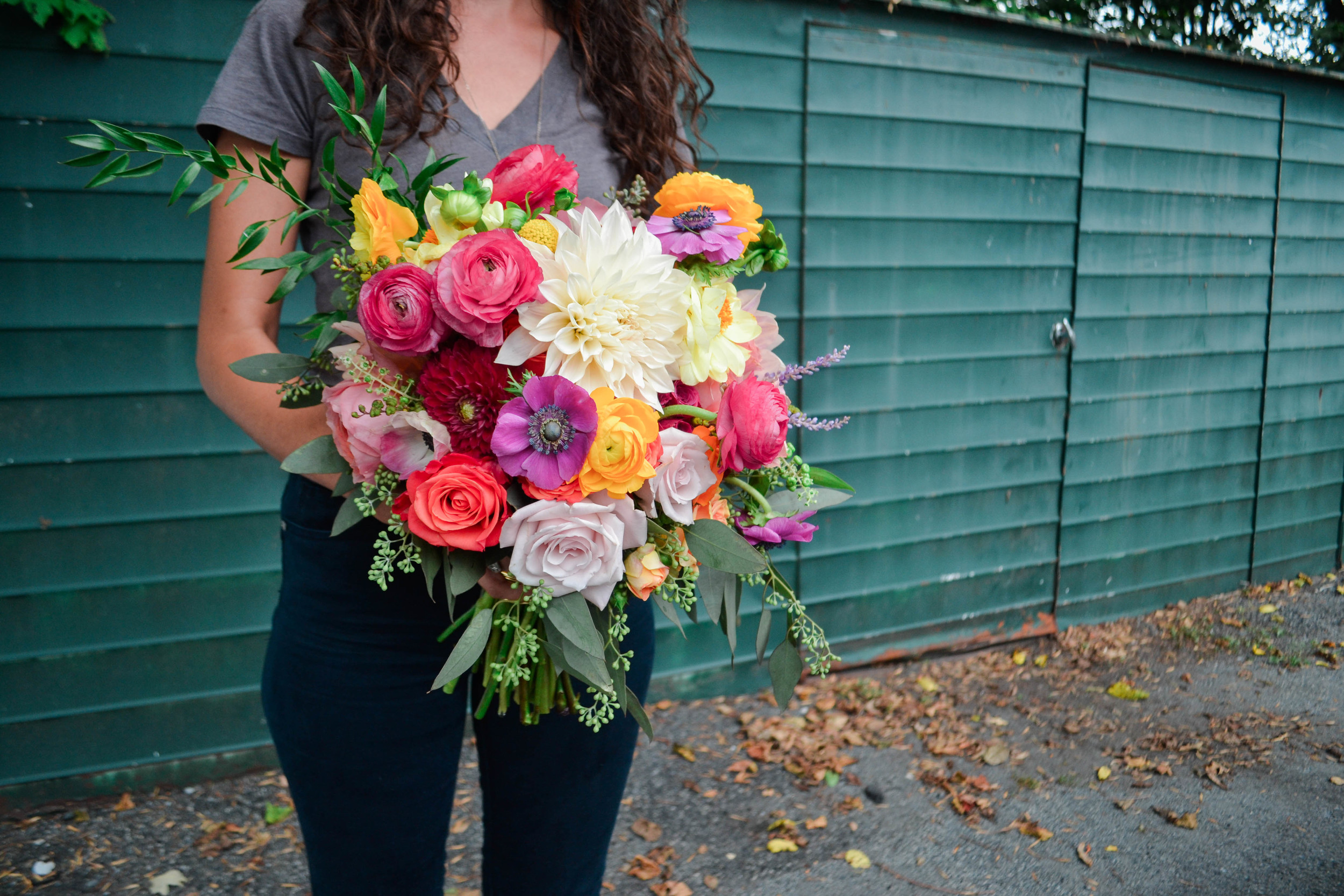 Rosehip Social Wedding Flower bridal bouquet