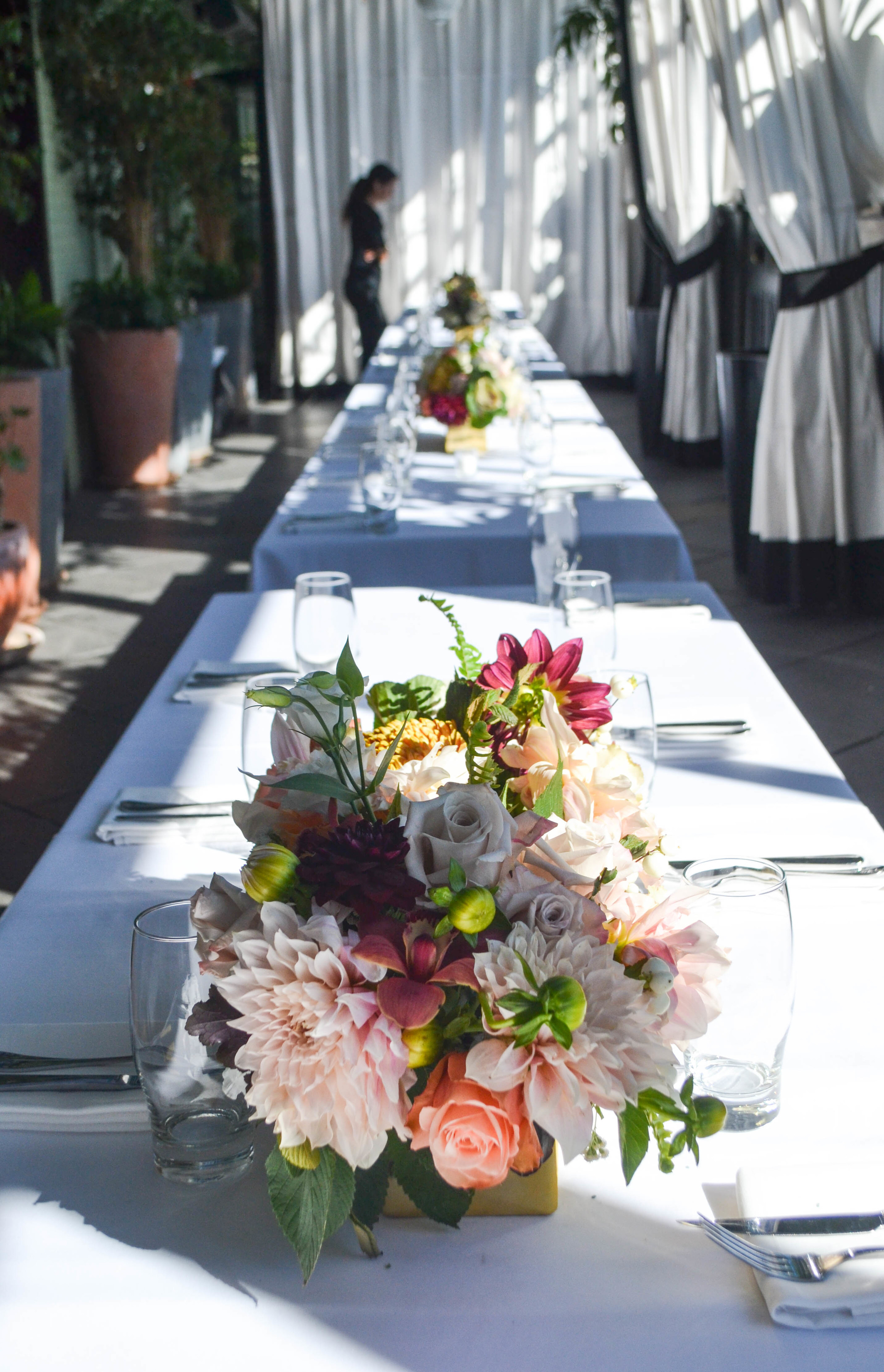 Gramercy Park Hotel Early Fall Wedding Flowers