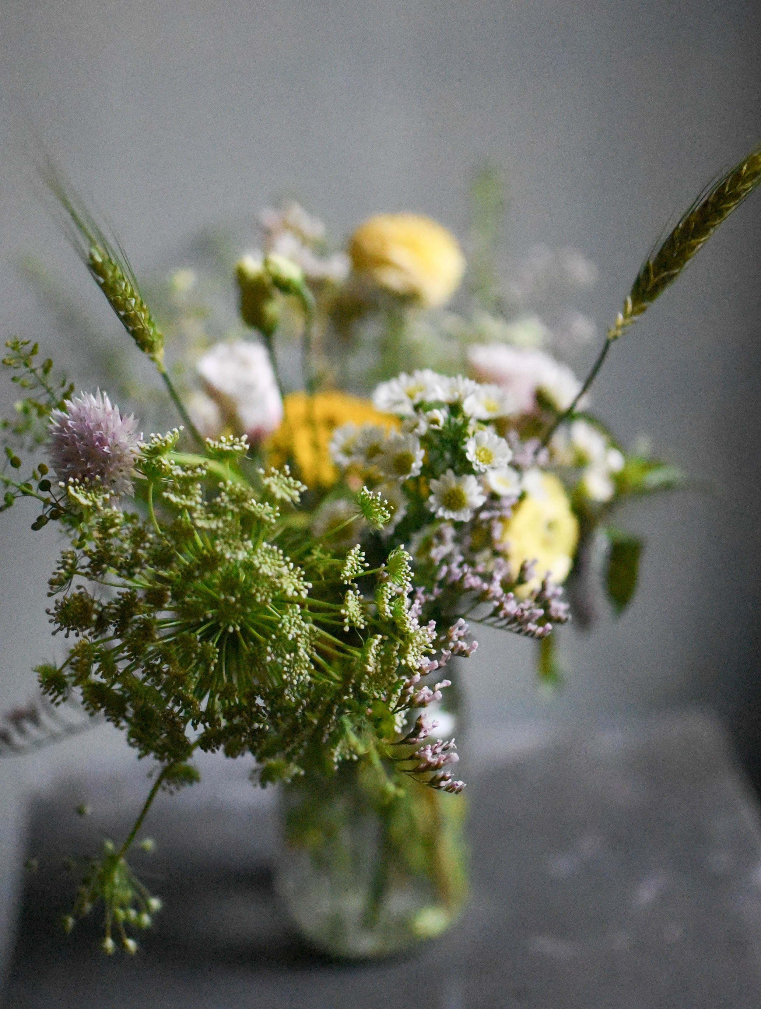 Greenpoint Loft wedding, mason jar centerpiece