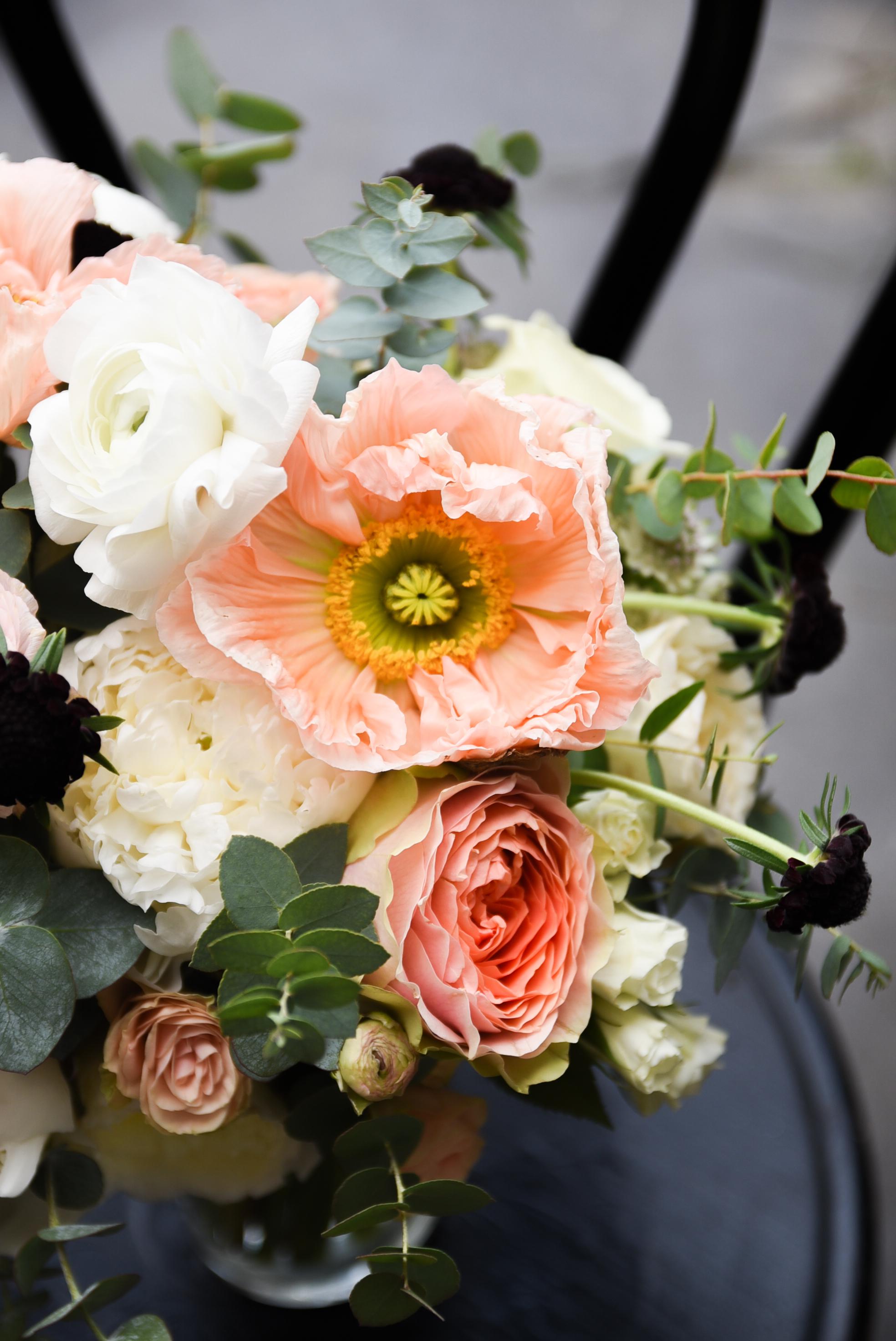A unique bridal bouquet
