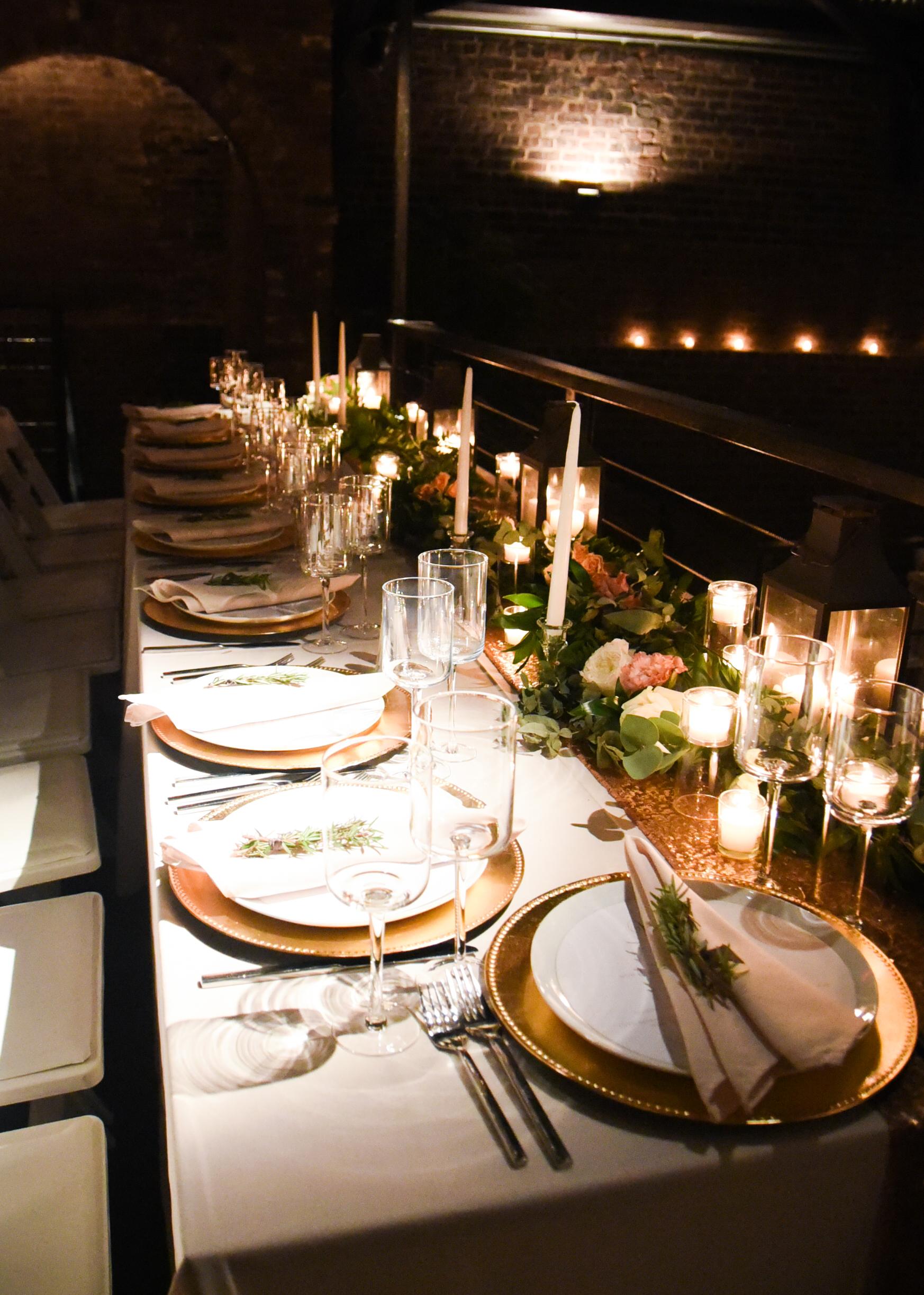 A garden per table