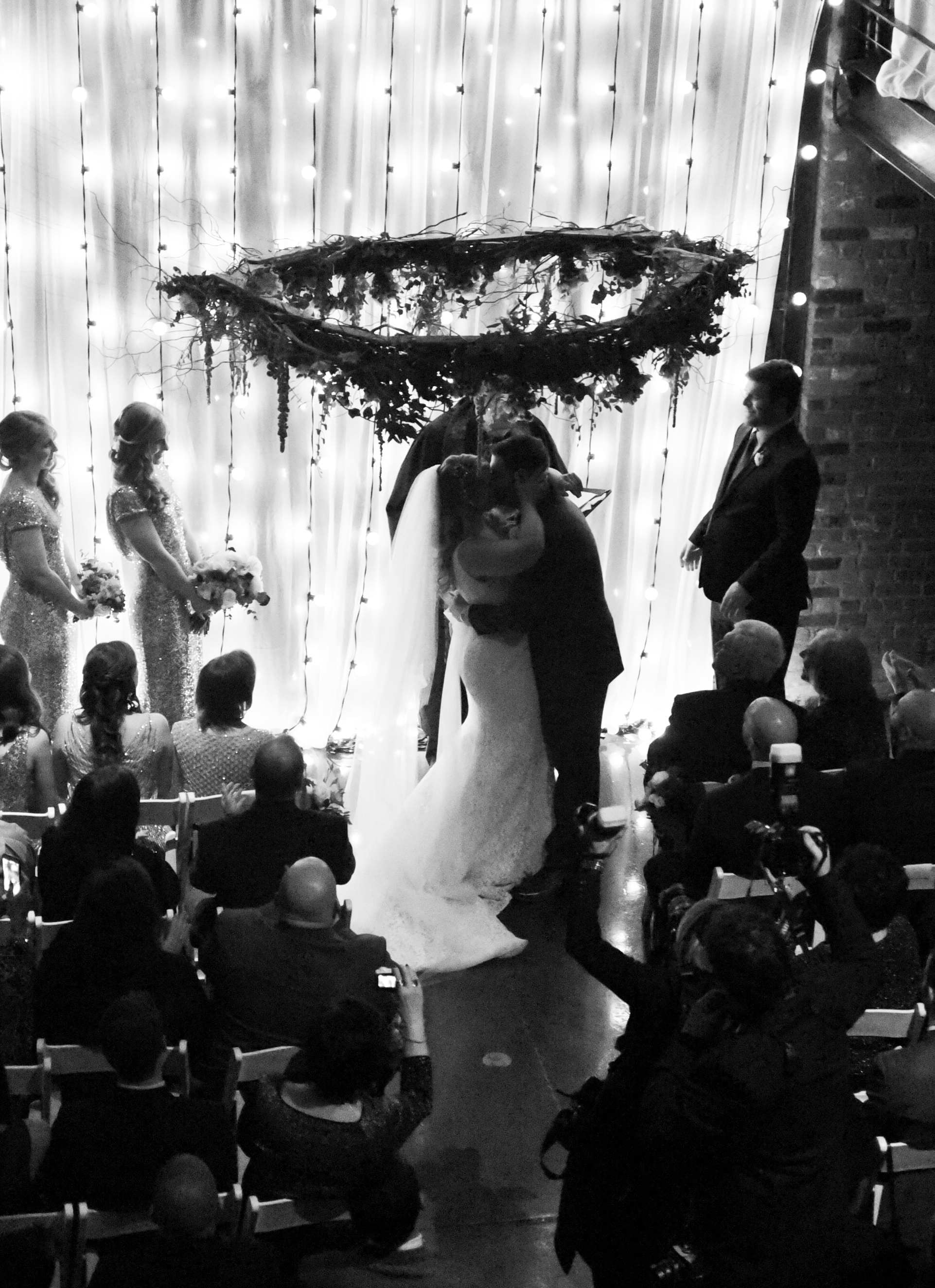 The happiest moment of the ceremony