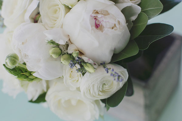 Bridal bouquet close-up