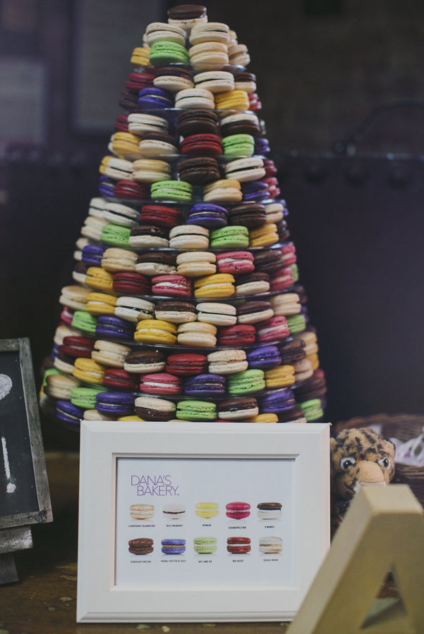 A mosaic of macaroons