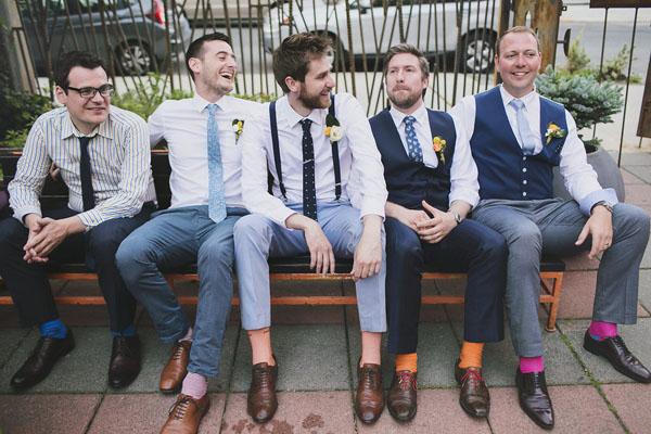 A handsome bunch of men
