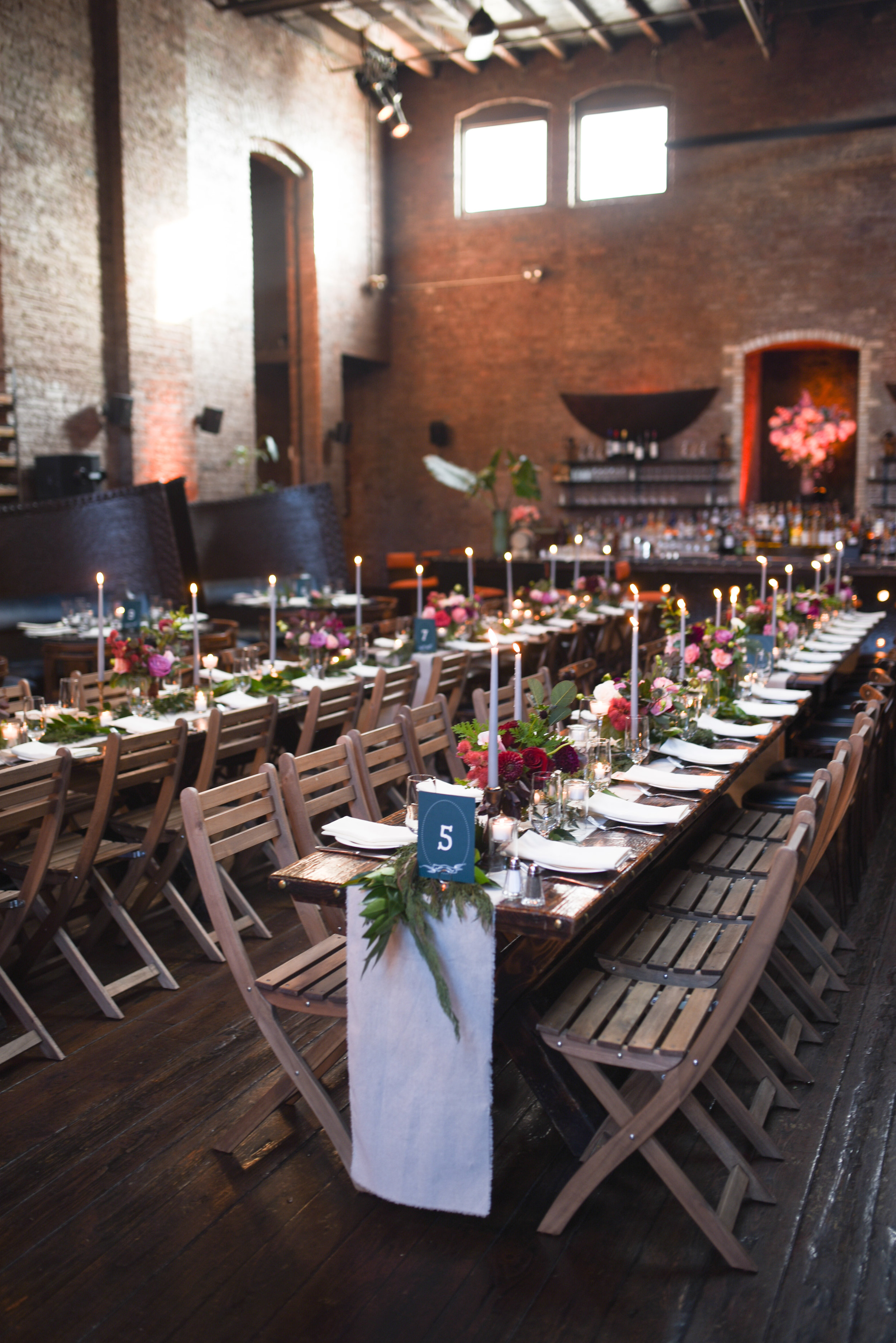 A beautiful venue with lots of natural light in Williamsburg, Brooklyn