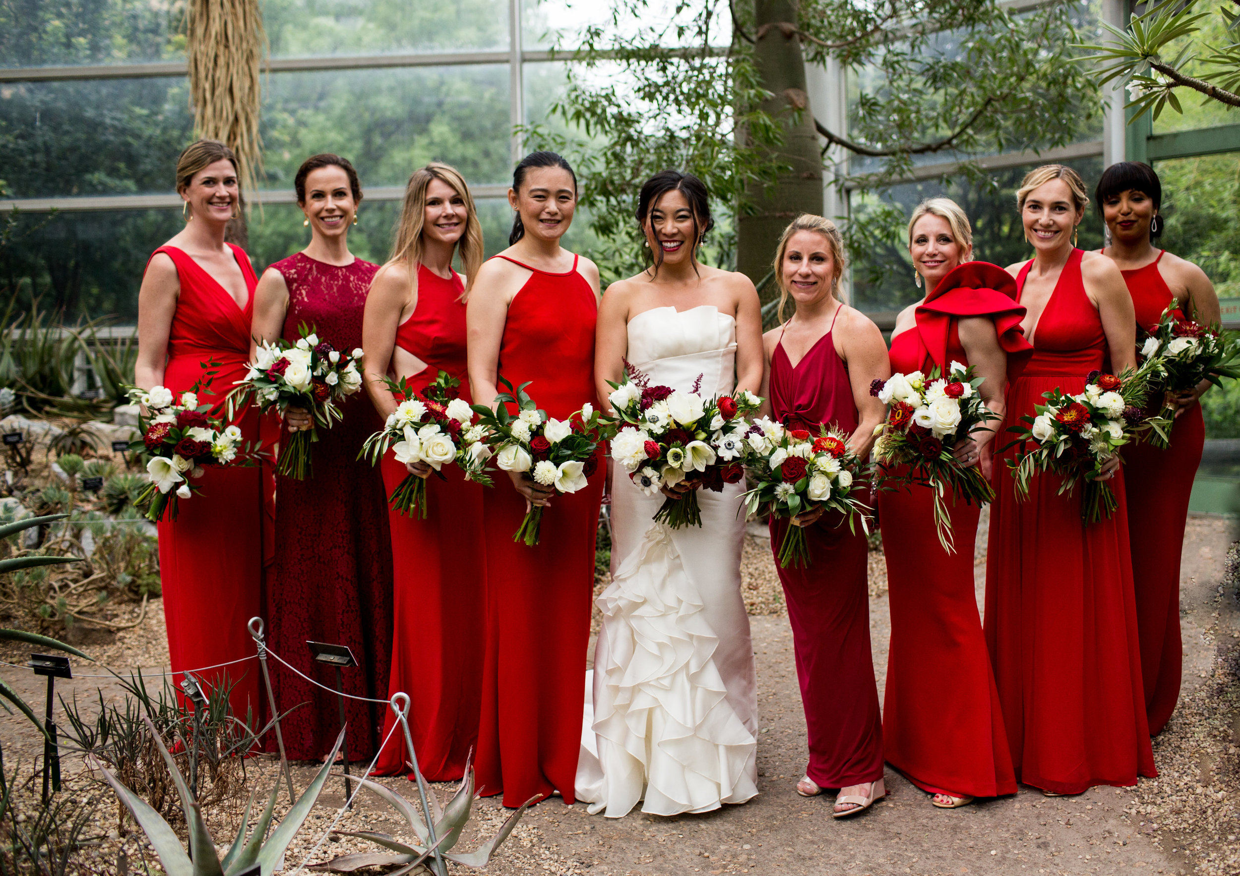 Brooklyn Botanical Gardens Wedding. From Parris With Love Photography.