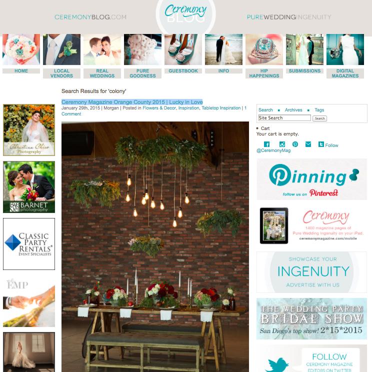 Rustic Equestrian Wedding Inspiration on Ceremony Blog