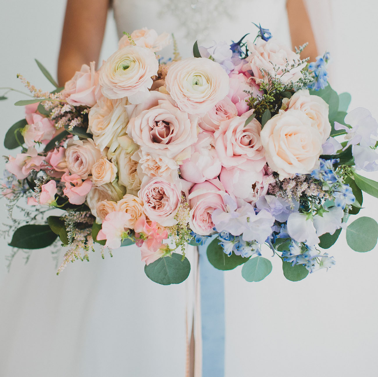 Rose Quartz and Serenity Wedding Inspiration - Featured on Green Wedding Shoes