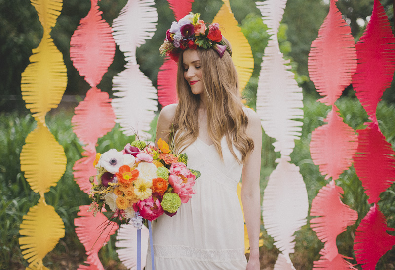 Summer Bridal Inspiration - Featured on Ruffled Blog
