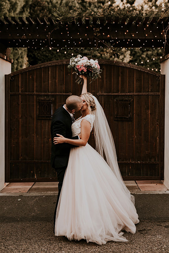 Real Wedding Brittney & Brandon - Featured on Ceremony Magazine