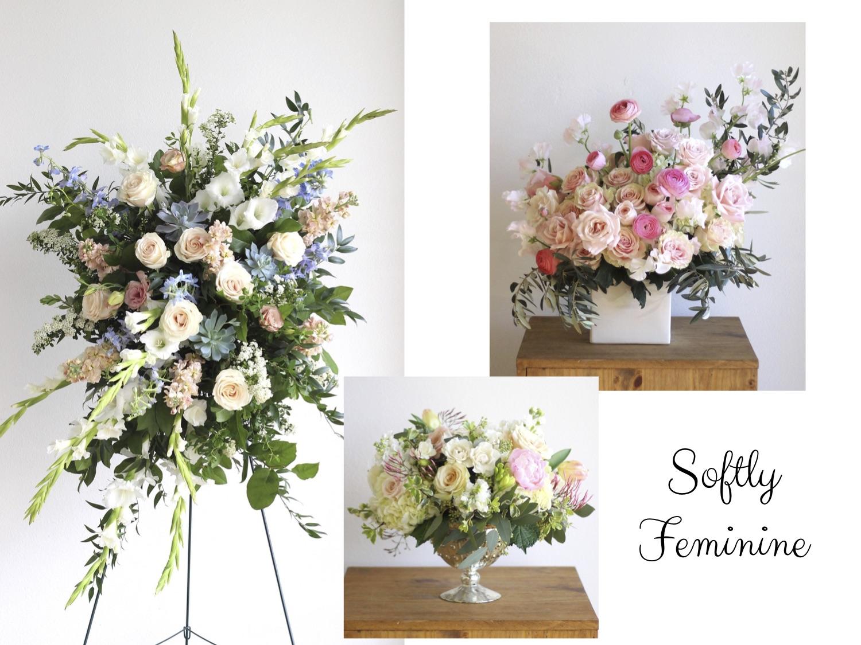 Softly Feminine Memorial Funeral Designs - The Bloom Of Time.jpg