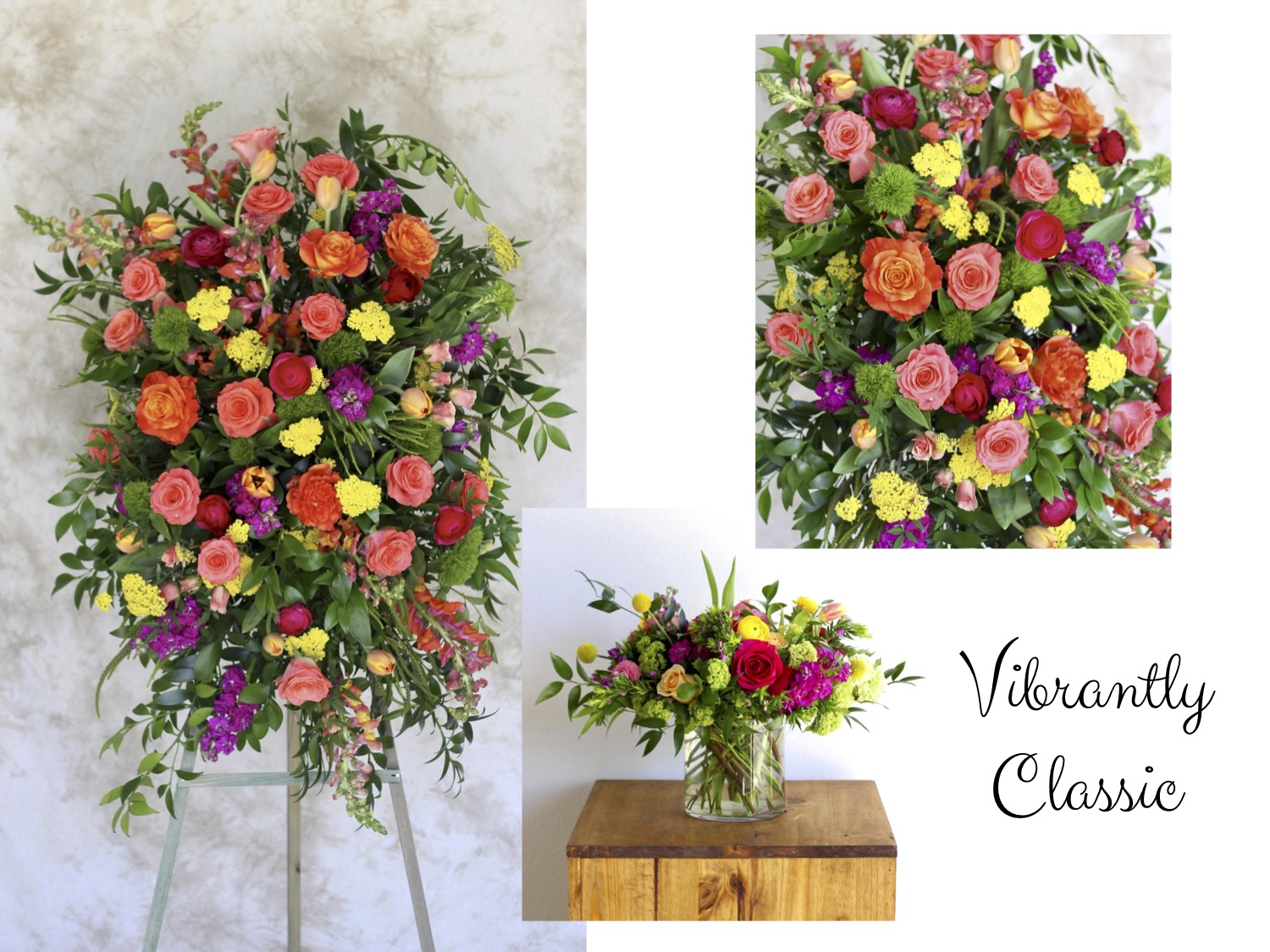 Vibrantly Classic Memorial Funeral Designs - The Bloom Of Time.jpg