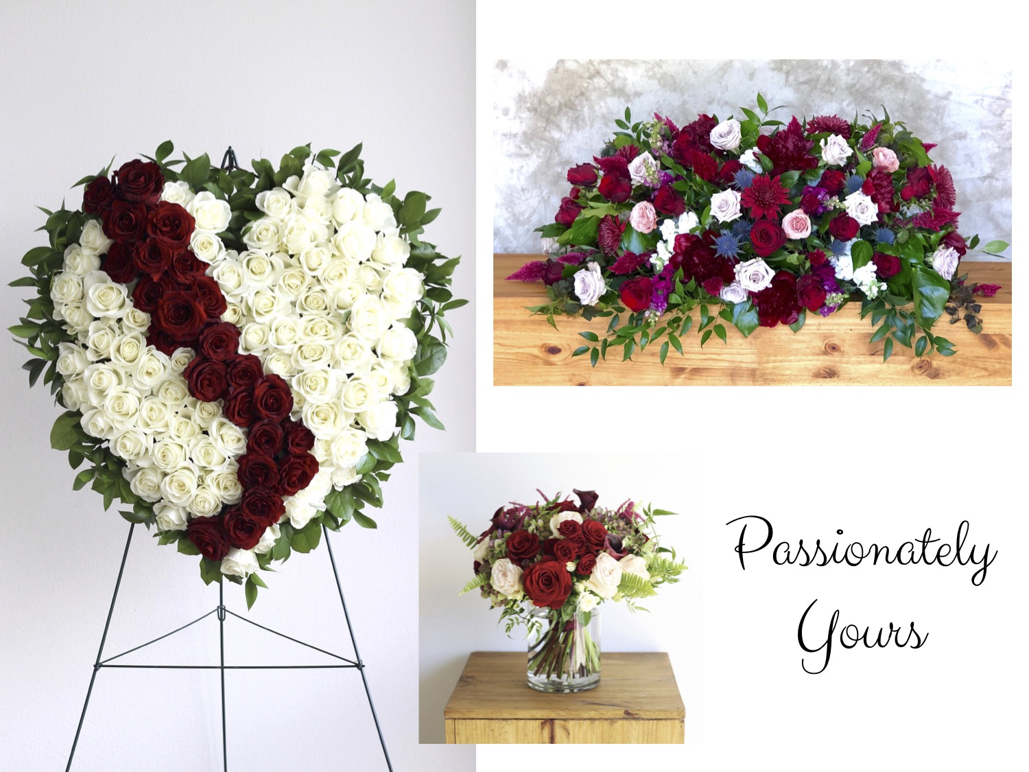 Passionately Yours Memorial Funeral Designs - The Bloom Of Time.jpg