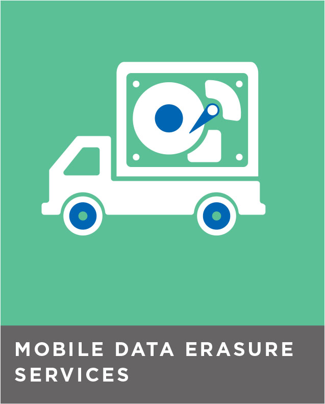 Mobile data erasure services